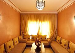 모가도르 멘자 아파트 호텔 - 마라케시 - 라운지