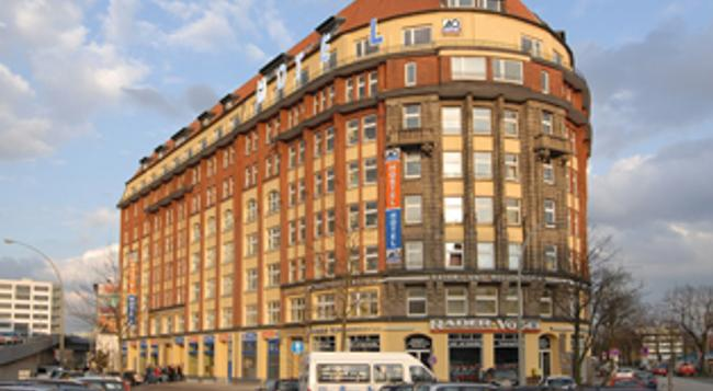 A&O 호텔 앤 호스텔 함부르크 하웁트반호프 - 함부르크 - 건물