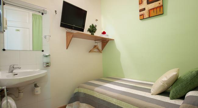 호스텔 펠리페 II - 바르셀로나 - 침실