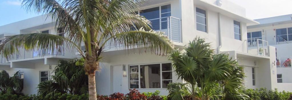 Aqua A North Beach Village Resort Hotel - 포트로더데일 - 건물