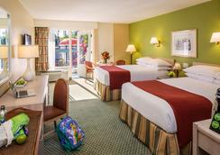 Howard Johnson Anaheim Hotel And Water Playground - 애너하임 - 침실