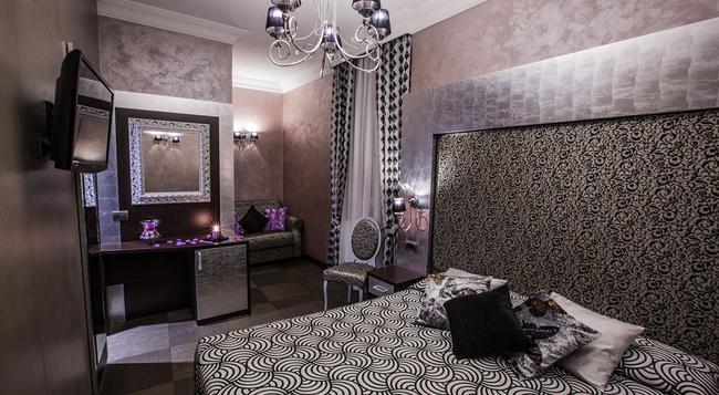 호텔 로마노 - 로마 - 침실