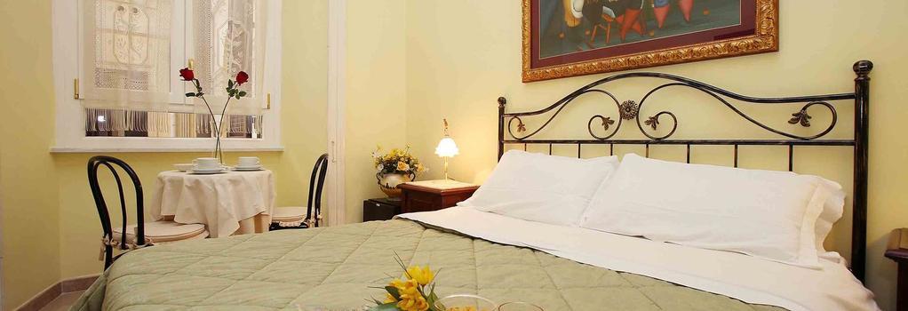 B&B 마이오르 - 로마 - 침실