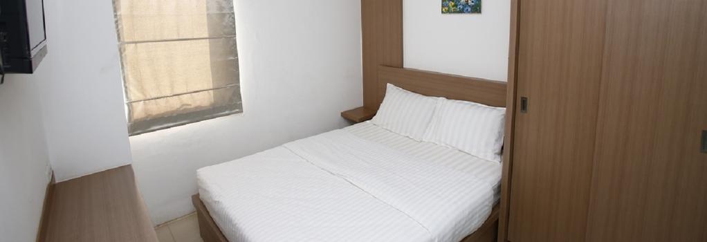 Reddoorz Near UOB Plaza - 자카르타 - 침실