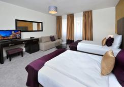 Aplend City Hotel Perugia - 브라티슬라바 - 침실