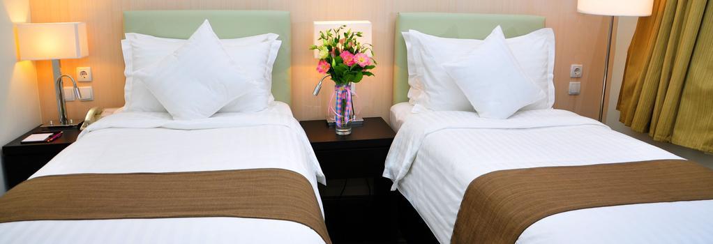 Canvas Hotel Shymkent - Shymkent - 침실