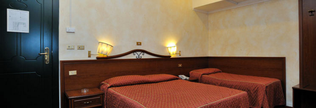 호텔 비르질리노 - 로마 - 침실
