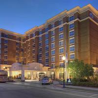 Hilton Columbia Center Hotel Facade