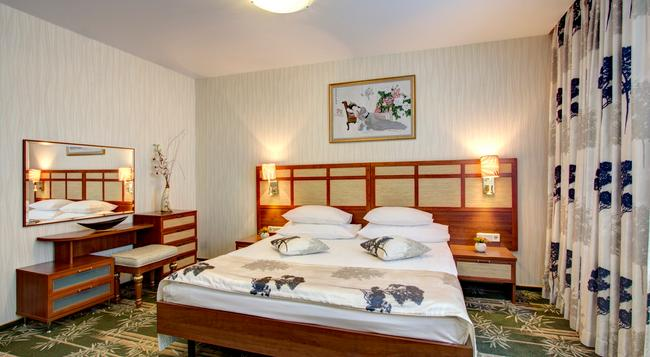 Izmailovo Alfa Hotel - 모스크바 - 침실