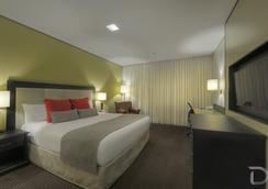 Hotel Deville Prime Porto Alegre - 포르투알레그레 - 침실