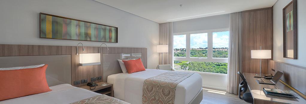 Hotel Deville Prime Campo Grande - 캄포그랜드 - 침실