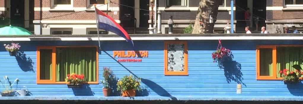PhilDutch Houseboat Amsterdam Bed and Breakfast - 암스테르담 - 건물