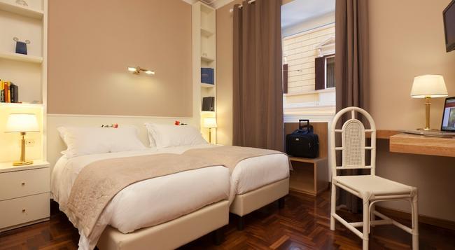 호텔 이탈리아 - 로마 - 침실