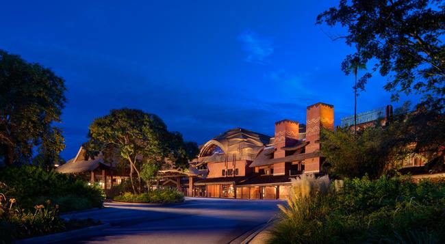 Disney's Animal Kingdom Lodge - 레이크부에나비스타 - 건물