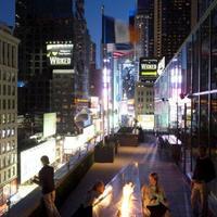 노보텔 뉴욕 타임스 스퀘어 Outside firepit