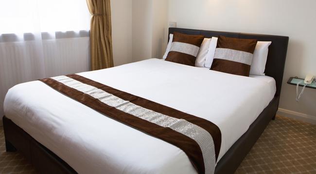 애비 코트 호텔 - 하이드 파크 - 런던 - 침실
