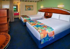 Disney's All-Star Sports Resort - 레이크부에나비스타 - 침실