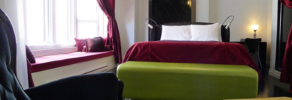 Hotel Chez Swann - 몬트리올 - 침실
