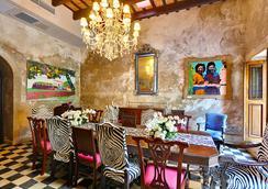 Villa Herencia Hotel - 산후안 - 레스토랑