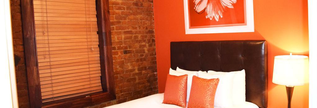 로얄 파크 호텔 앤 호스텔 - 뉴욕 - 침실