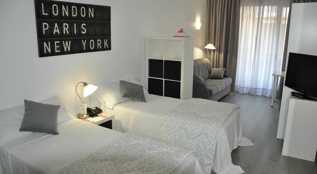 아파트호텔 아테나 칼라브리아 - 바르셀로나 - 침실