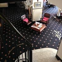 Hotel de France Lobby Sitting Area