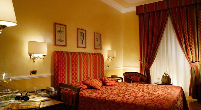 베토자 마시모 다제글리오 호텔 - 로마 - 침실