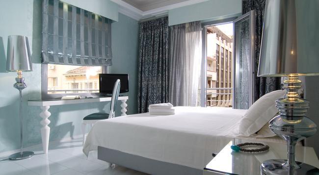 아텐 다이아몬드 홈텔 - 아테네 - 침실