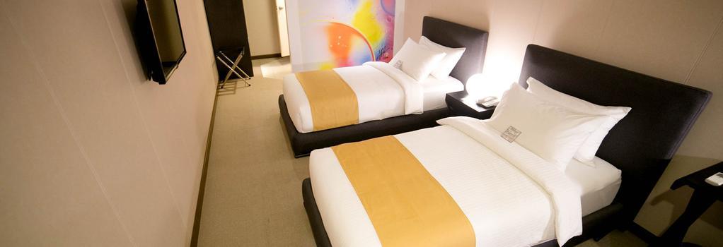 더 호텔 앳 그린 선 - 마닐라 - 침실