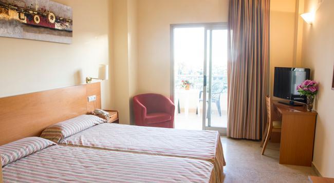 Hotel Toboso Almunecar - Almuñecar - 침실