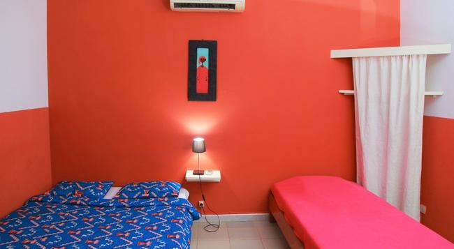 Hotel Du Phare - Les Mamelles - 다카르 - 침실