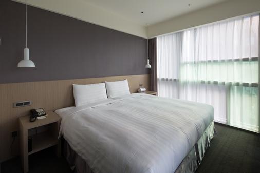 차인 호텔 - 동먼 - 타이베이 - 침실