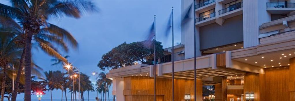 하얏트 리젠시 와이키키 비치 리조트 & 스파 - 호놀룰루 - 건물