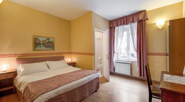 레지덴자 벨리 인 호텔 - 로마 - 침실