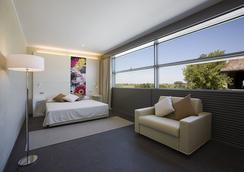 호텔 시티 파르마 - Parma - 침실