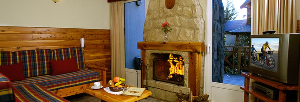 Villa Huinid Lodge - 산카를로스데바릴로체 - 침실