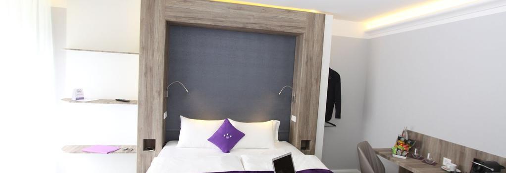 Stay City Hotel Dortmund - 도르트문트 - 침실