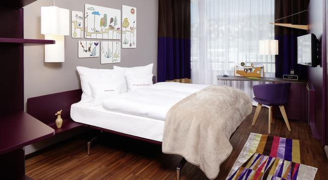 25아워스 호텔 취리히 웨스트 - 취리히 - 침실