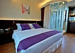 더 보히니아 호텔 TST - 홍콩 - 침실