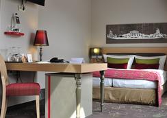 호텔 겐다름 누보 - 베를린 - 침실