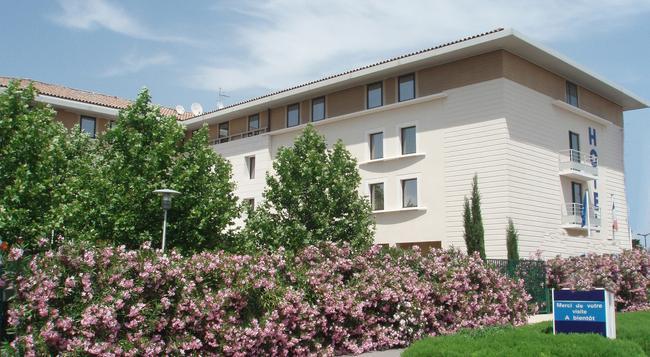 호텔 키리아드 아비뇽 - 쿠틴 가르 테제비 - 아비뇽 - 건물