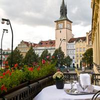 호텔 파크투브 팰리스 프라하 Balcony