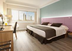 휴사 차마틴 호텔 - 마드리드 - 침실