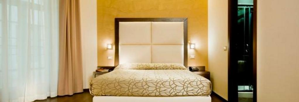 인피니티 호텔 성 페테르 - 로마 - 침실
