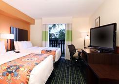 Fairfield Inn and Suites by Marriott San Diego Old Town - 샌디에이고 - 침실