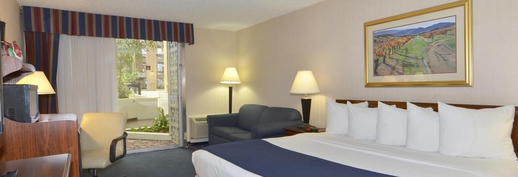 Amarillo Inn & Suites - 애머릴로 - 침실