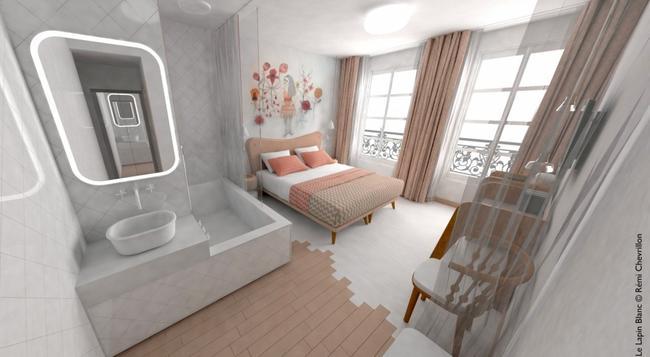 Le Lapin Blanc - 파리 - 침실