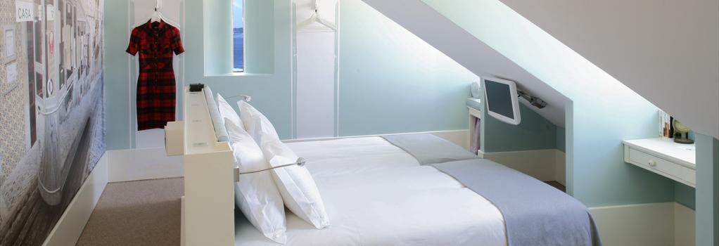 LX 부티크 호텔 - 리스본 - 침실