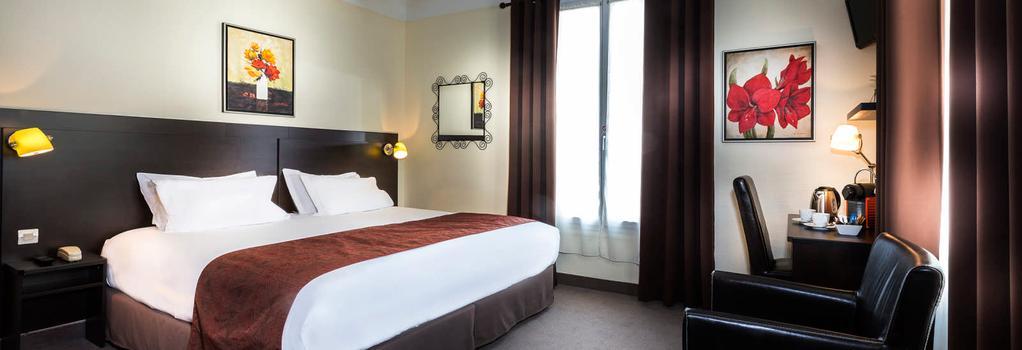 호텔 샤티용 파리 몽파르나스 - 파리 - 침실