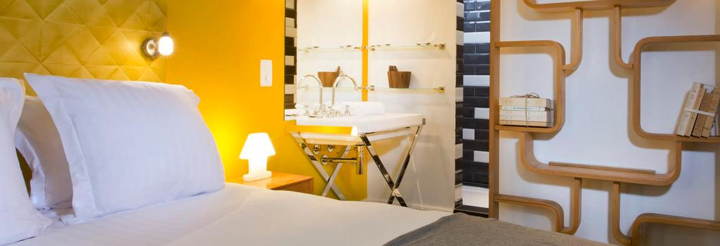1er Etage Marais - 파리 - 침실